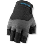 dakine half finger gloves black
