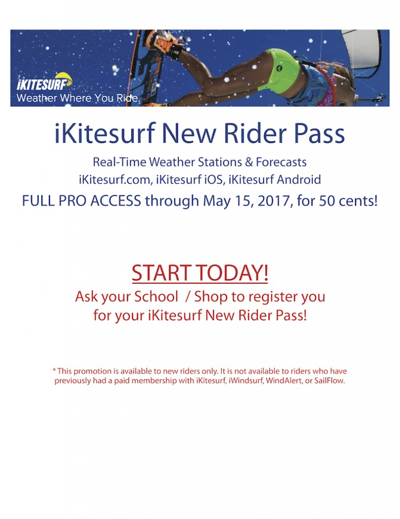iKitesurf New Rider Pass