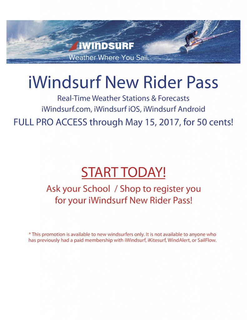 iWindsurf New Rider Pass
